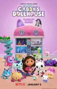 ดูซีรี่ย์ใหม่ netflix เรื่อง Gabby's Dollhouse (2021) บ้านตุ๊กตาของแก็บบี้ HD
